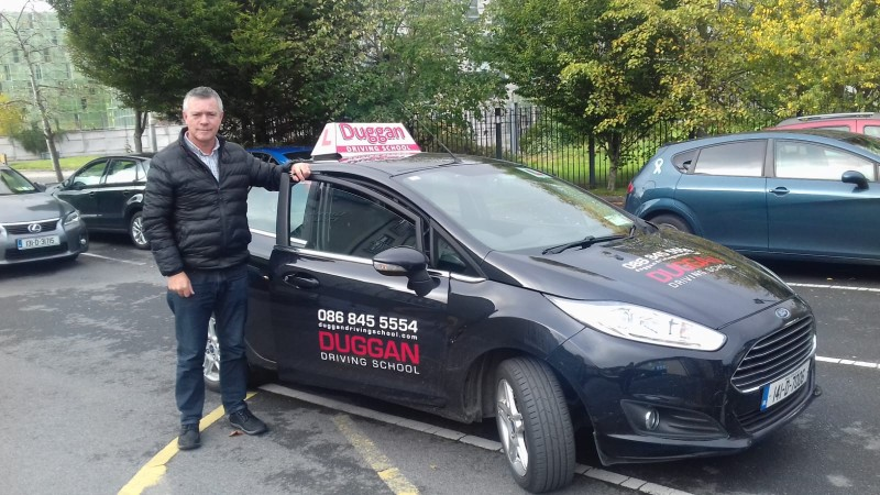 Padraig Duggan carries on the unique motoring instruction methods established by his father and combines them with modern up to date techniques which proved positive when he passed all his exams with top marks - Duggan Driving School, Naas, Ireland